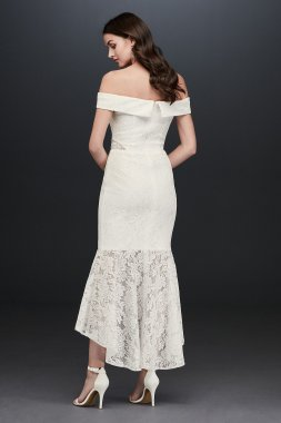 Crinkle Chiffon Gown with Asymmetrical Draping Style 9V3540
