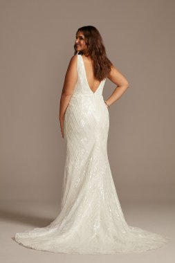 Strapless Trumpet Gown with Beaded Detail Style KP3716