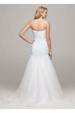 Sweetheart Trumpet Beaded Applique Gown Style WG3532