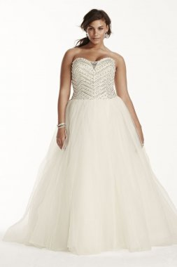 Tulle Ball Gown with Crystal Bodice Style 9WG3754