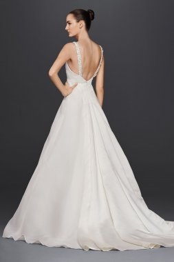 Extra Length 4XLZP341683 Style A-Line Wedding Dress with Beading by