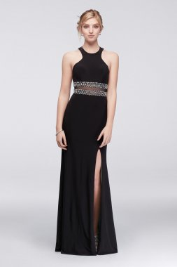 New 57176 Style Halter Neck Dress for Prom Girl
