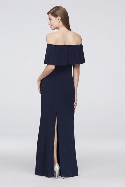 New Style Off-the-Shoulder Jersey Bridesmaid Dress AP2E203340