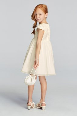 All Over Lace Short Sleeve A-line Dress OP221