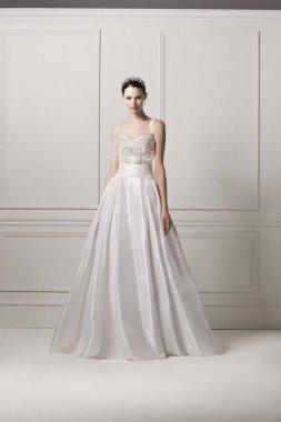 Sleeveless Tank Ball Wedding Dress Style CPK626